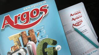 Argos catalogues are being scrapped