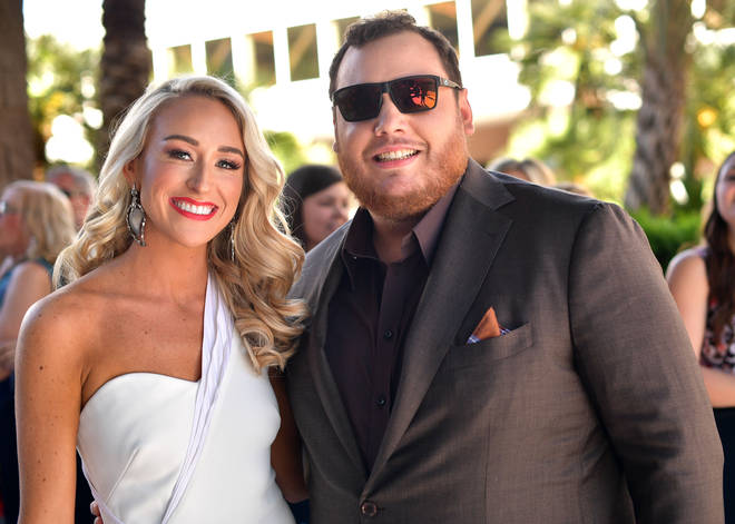 Luke Combs shares beautiful wedding snaps as he marries Nicole Hocking in Florida