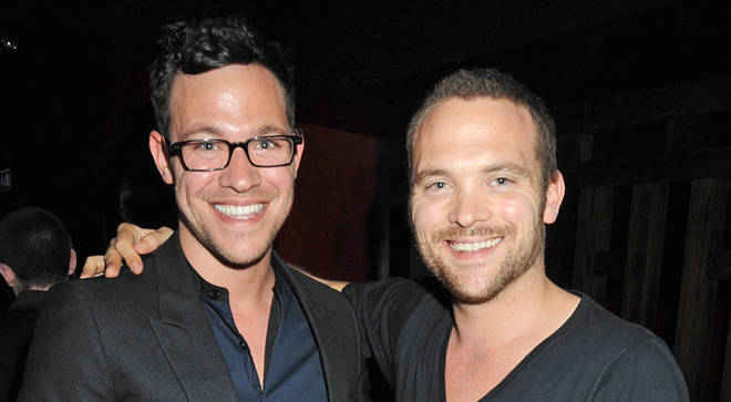 Will Young and twin brother Rupert Young