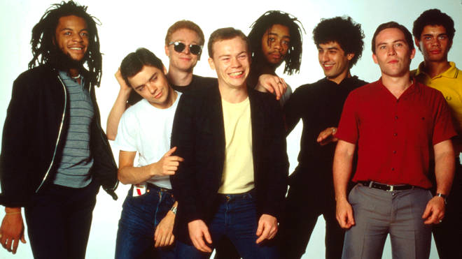 UB40 with Ali Campbell in 1983