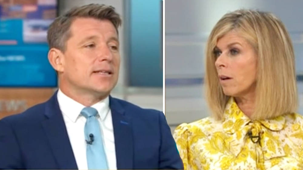 Ben Shephard is leaving Good Morning Britain, Kate Garraway announces live on air