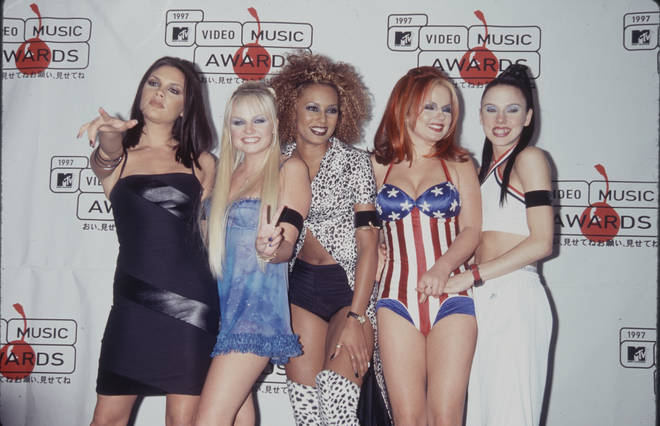 The Spice Girls had nine number one hit singles in the UK throughout their career
