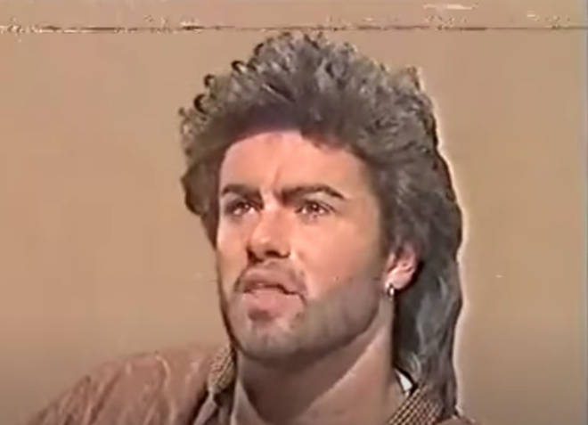 George Michael appeared on Aspel and Company in 1986 to discuss the break-up of Wham!