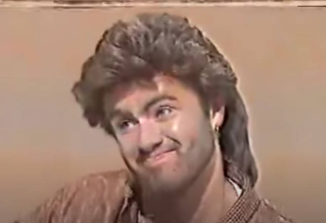 George Michael appeared on the Aspel and Company TV show in 1986 and discussed his real Greek name