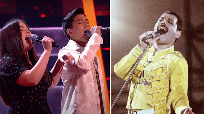 Daria, Jarren and Gracie stunned the judges on ITV's The Voice Kids with an incredible rendition of Freddie Mercury's 'Barcelona'