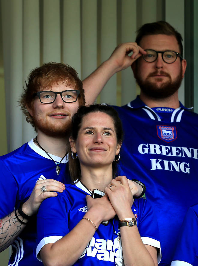 Ed Sheeran and wife Cherry Seaborn are reportedly due to be in the final stages of pregnancy with their first child