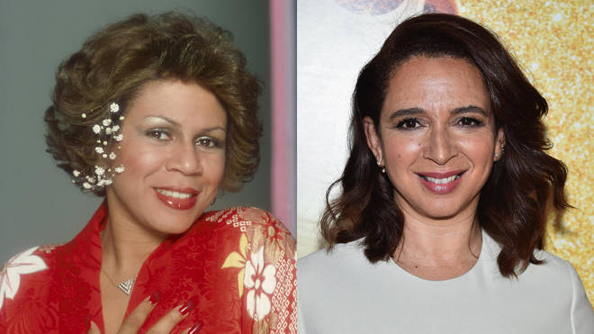 Minnie Riperton and her daughter, actor Maya Rudolph