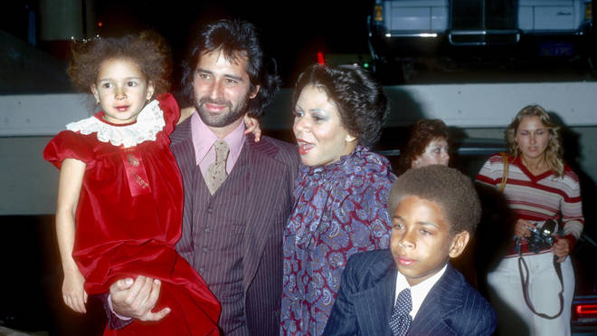 Minnie Riperton, her husband Richard Rudolph and children Maya and Marc in 1978