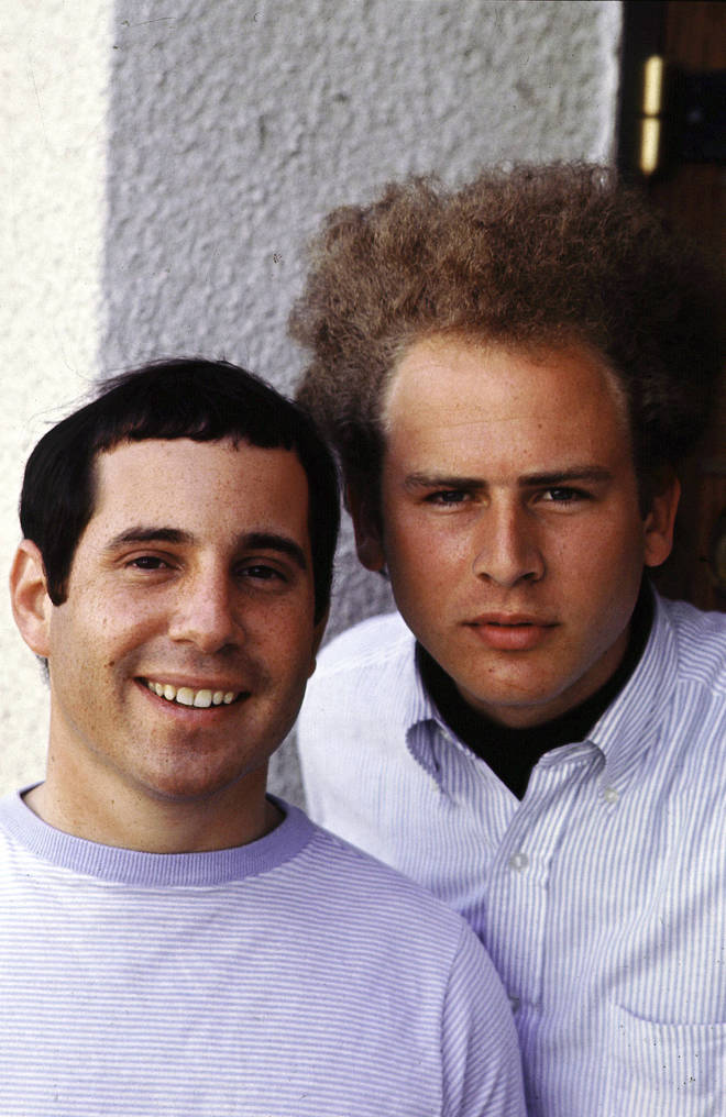 'Bridge Over Troubled Water' was a hit for Paul Simon (right) and Art Garfunkel (left) in 1970