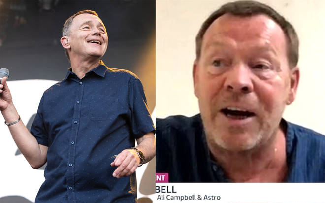 UB40: Ali Campbell hasn't spoken to his brother Duncan despite stroke