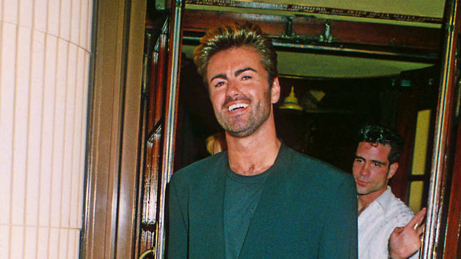George Michael photographed in 1991 just months after meeting and falling in love with Anselmo Feleppa