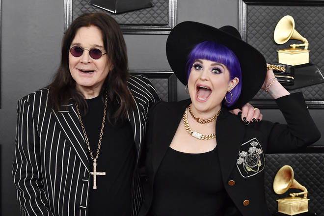 Kelly Osbourne is the daughter of English rock legend, Ozzy Osbourne. Pictured at the 2020 Grammy Awards