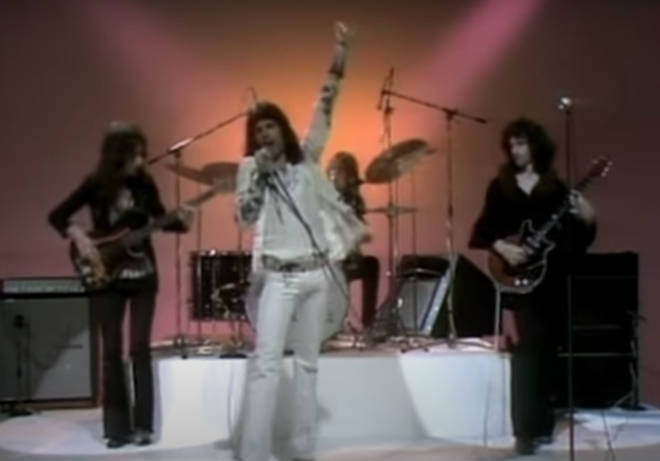 Filmed at St Johns Wood Studio on August 9th, 1973 the footage shows the band appearing for the very first time in front of the cameras.