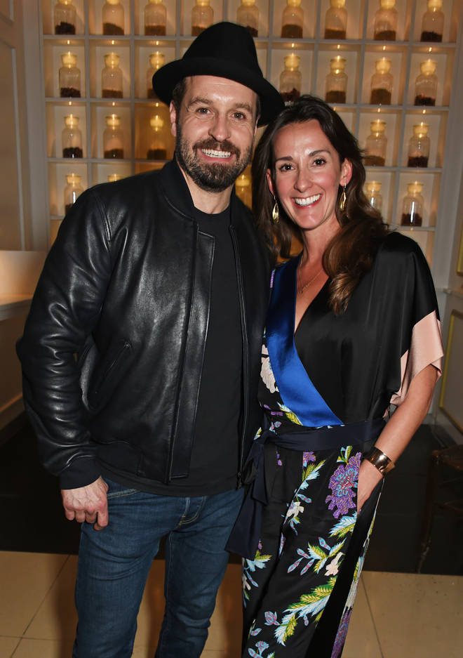 Alfie Boe (L) and Sarah Boe have split after 16 years of marriage.