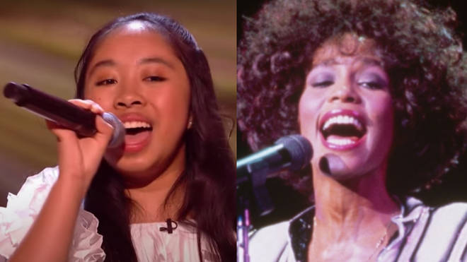 Justine Afante stunned the audience and judges with her rendition of Whitney Houston's famous song on the semi-finals of The Voice Kids