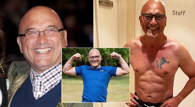 "MasterChef presenter Gregg Wallace shows off body transformation and ""almost six pack"" on social media"
