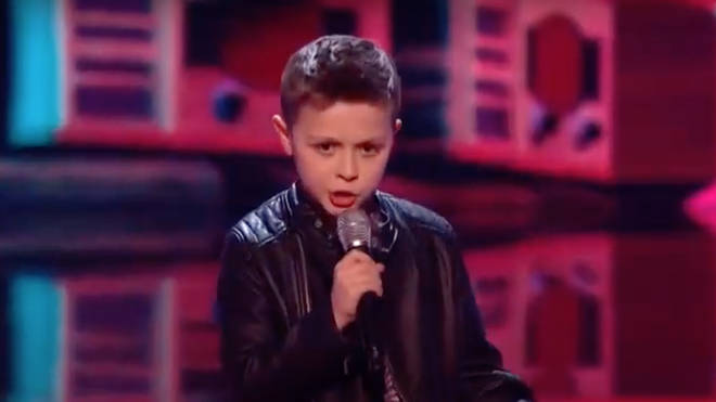 George Elliot, 10, took to the stage on Saturday night (August 22) and wowed coach Danny Jones with the Freddie Mercury song as he competed for a place in the final of the TV talent show.