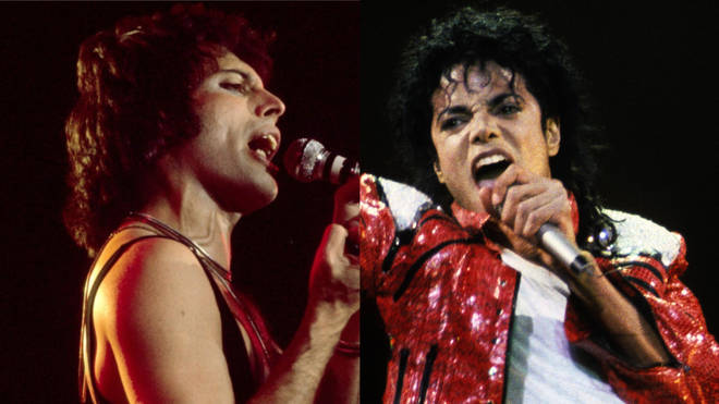 Freddie Mercury and Michael Jackson recorded a handful of duets, only one of which ever made it officially to the light of day.