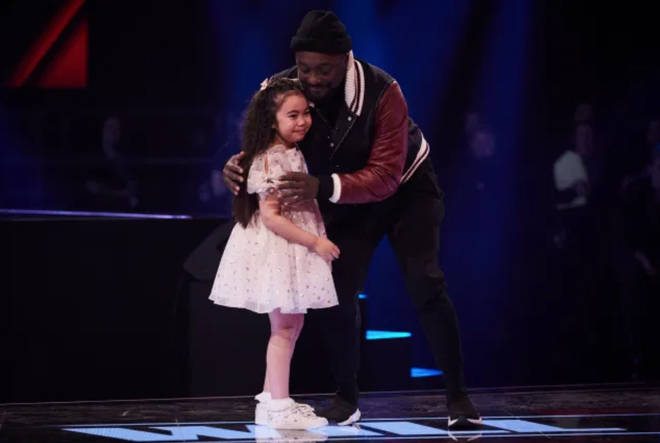 will.i.am chose Victoria, 7, to go through to the final of The Voice Kids 2020