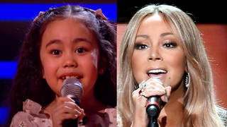 7-year-old Victoria gave a stunning rendition of Mariah Carey's hit 'Hero' on The Voice Kids semi-final