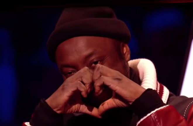 will.i.am admitted he had a special bond with his finalist Victoria. Pictured at the semi-final of The Voice Kids.