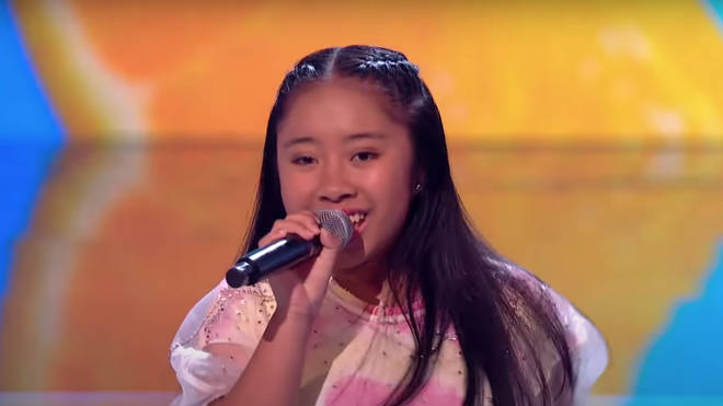 Justine, 13, was crowned the winner of The Voice Kids after her incredible performance of a Stevie Wonder song