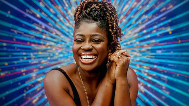 Strictly Come Dancing 2020 contestant Clara Amfo