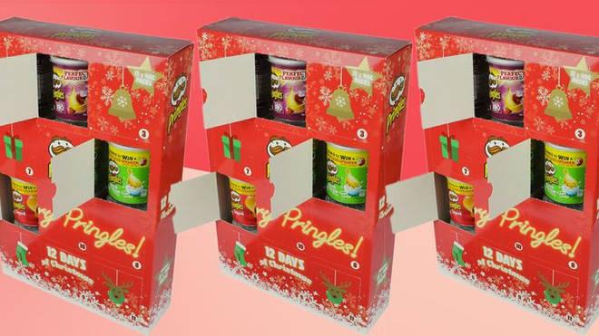 Pringles Advent Calendar