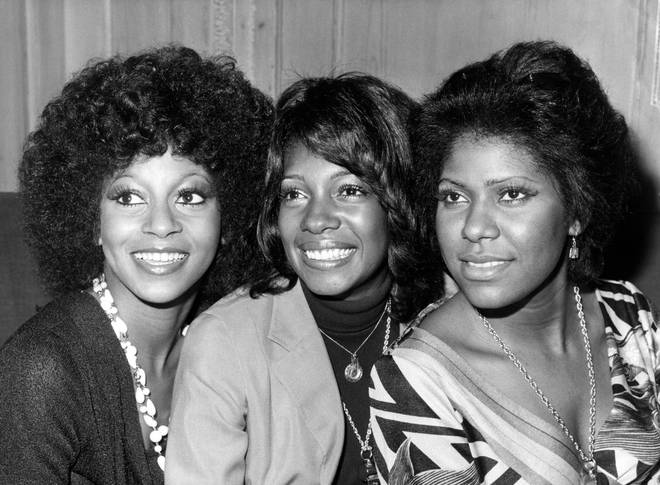 Photo of Jean TERRELL and Lynda LAURENCE and SUPREMES and Mary WILSON