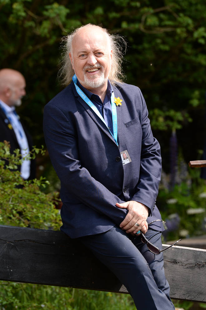 Actor, singer and comedian Bill Bailey is confirmed to join the 2020 Strictly Come Dancing line-up. Pictured at the Chelsea Flower show in 2019
