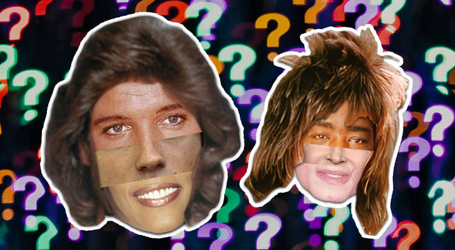 Can you spot the famous singers in these face mashups? Take the quiz and find out.