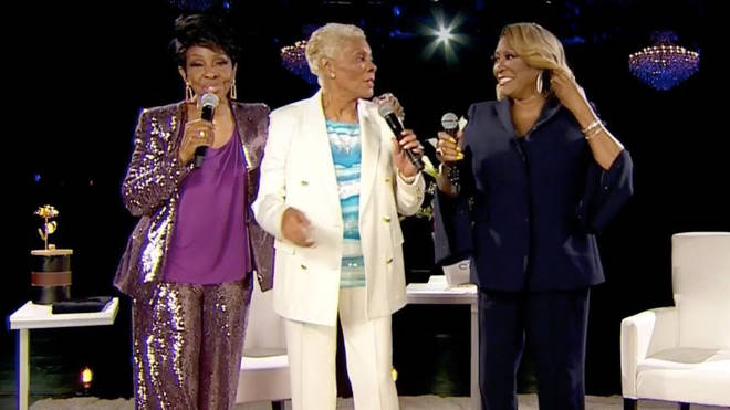 Gladys Knight, Dionne Warwick and Patti LaBelle