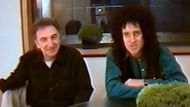 The video was shot just two years after Freddie's death when the band were grieving and still struggling to come to terms with their loss, sees Brian May take charge and speak to fans for the first time in many months.