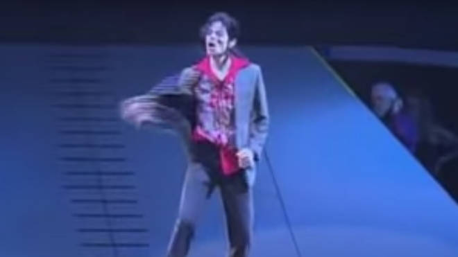 The star was at his best, showing off his signature powerful dance moves, the huge range of his voice and dominating the stage in the way only the King of Pop could.