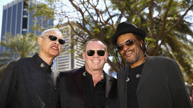 Ali Campbell, Mickey Virtue and Astro in 2015