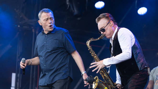UB40's Duncan Campbell and Brian Travers at Rewind Scotland 2018