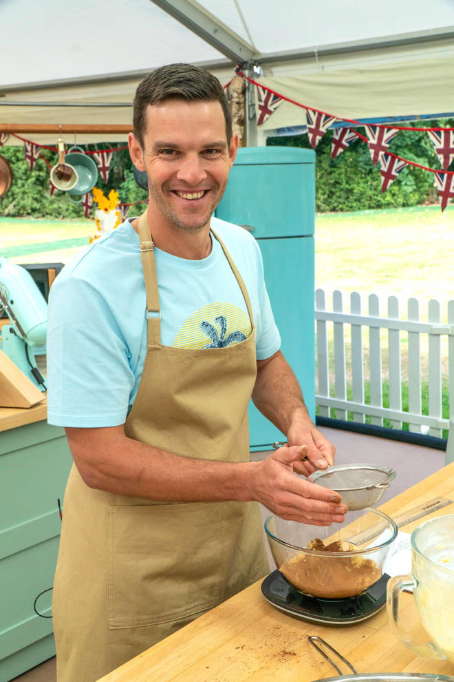 The Great British Bake Off 2020 baker Dave