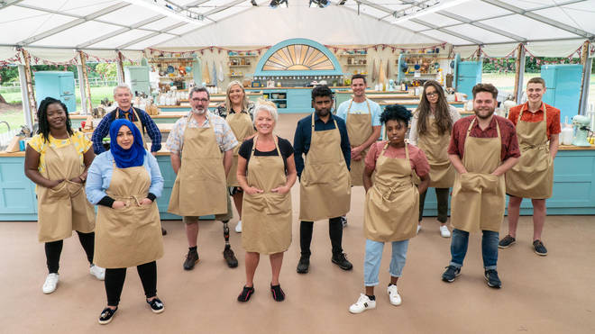 The Great British Bake Off line-up 2020