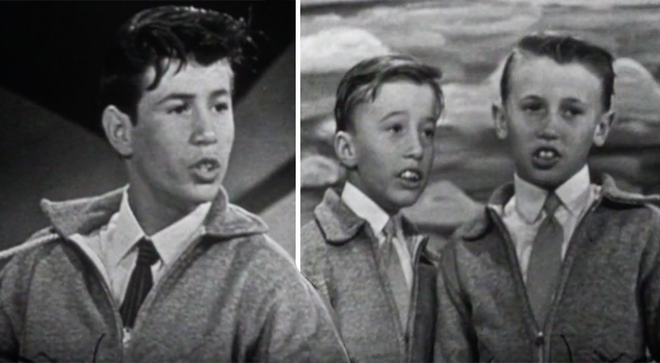 This was the Bee Gees first ever national TV performance in 1960