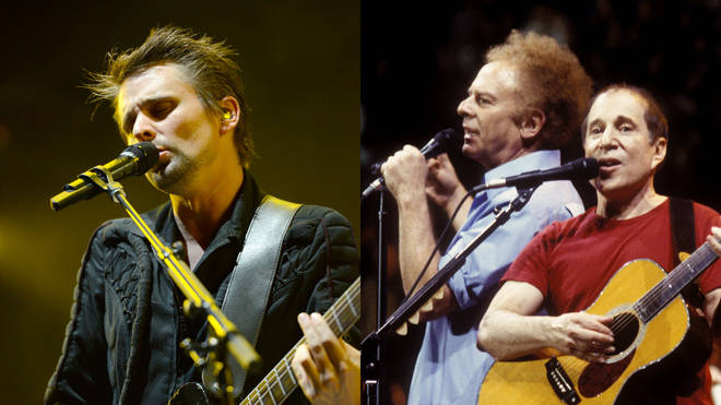 Matt Bellamy has covered Simon & Garfunkel