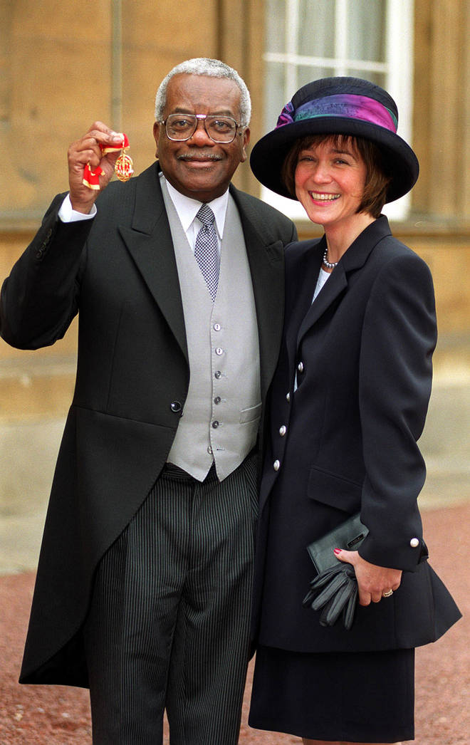 Sir Trevor McDonald has moved out of his martial home after 34 years of marriage.