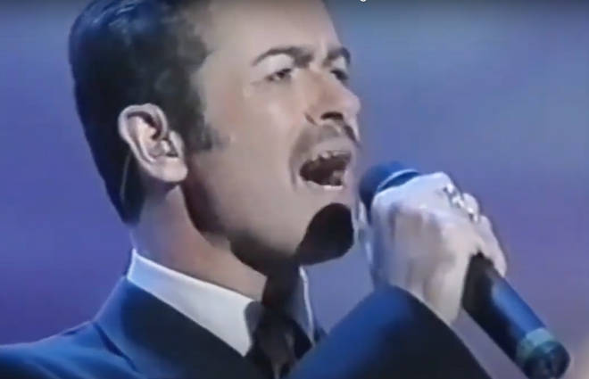 George Michael sang Elton John's hit song 'Don't Let The Sun Go Down On Me' at the 2000 benefit concert in Italy