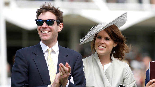 Princess Eugenie and Jack Brooksbank in 2015