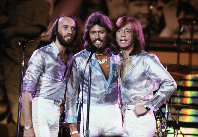 Barry, Robin and Maurice Gibb were appearing on the BBC show when host Clive Anderson made the remarks about the trio.