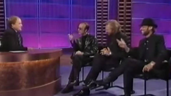 Appearing on the Clive Anderson All Talk show in 1997, the Bee Gees famously walked off set after growing tired at the host's jibes about their music