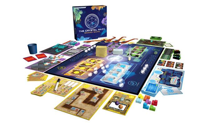 Crystal Maze Board Game