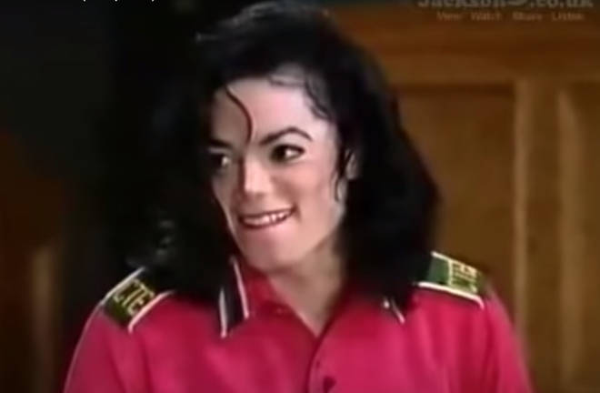 The pair were sitting on stage of the star's private theatre when Oprah makes the request and while MJ squirmed at being put on the spot, after some persuasion he started to perform.