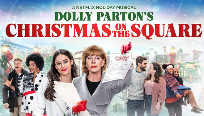 Dolly Parton's Christmas on the Square Netflix cast