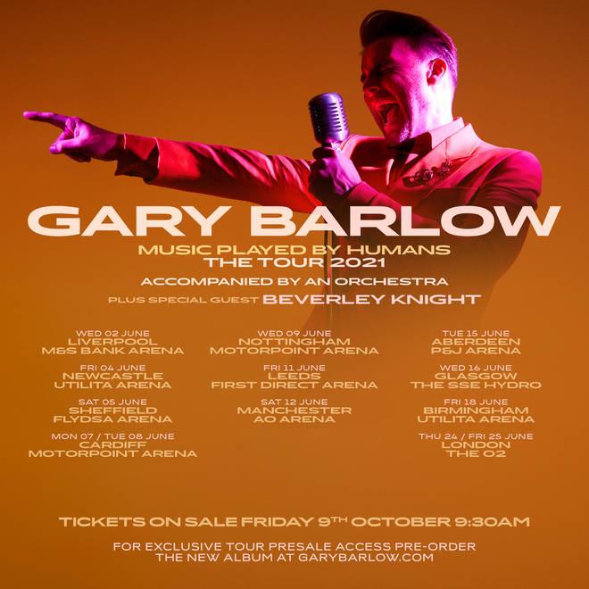 Gary Barlow tour