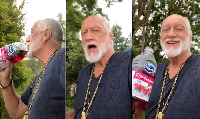 Mick Fleetwood responds to viral 'Dreams' TikTok in the best way